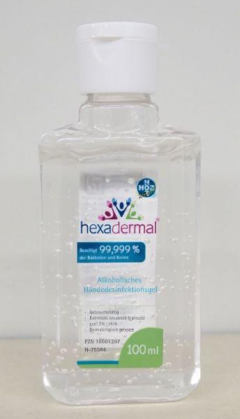 Hexadermal® - alkoho.Händedesinfektionsgel - 100ml
