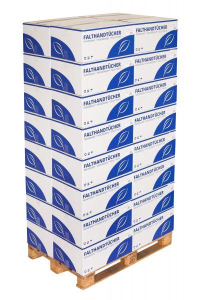 Falthandtuch, 2-lagig, 3200 Blatt, RC75, weiß