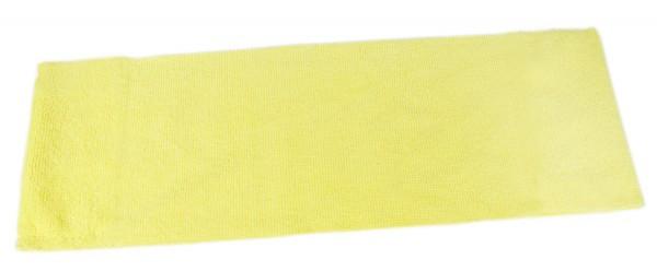 Microfaser Einweg-Mopp ohne Taschen, 40cm, gelb