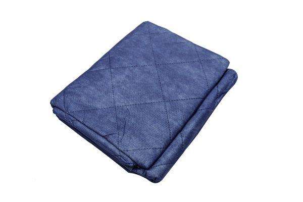 Einmaldecken - blau, mit Polyesterfüllung, 600g