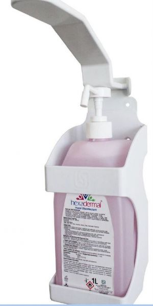 Aktionsset Handdesinfektion Spender + 1000ml Hexadermal® Händedesinfektion
