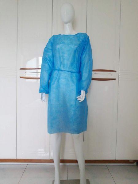 Einwegkittel - PP 25g/qm - blau