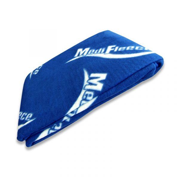 Fleece Decke, blau, 490g