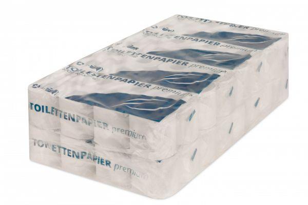 Toilettenpapier - Classic- 2-lagig - 250 Blatt - RC weiß 65%