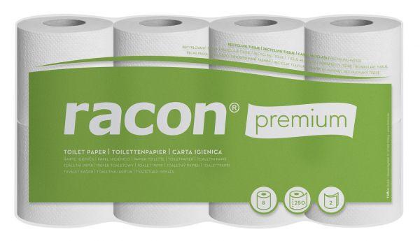 Toilettenpapier, premium, 2-lagig, hochweiß