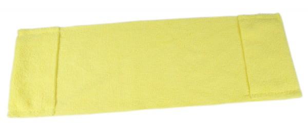 Microfaser Einweg-Mopp mit Taschen, 40cm, gelb