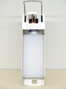 UNI-PRO 10 Desinfektionsmittelspender - Alu mit Edelstahlpumpe - 1000 ml
