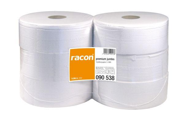 Jumbo Toilettenpapier, premium, weiß, 2-lagig