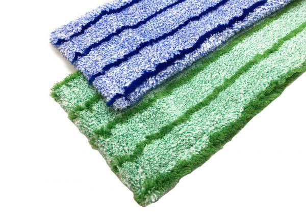"Microfaser Leichtlaufmopp ""Runner Blue / Runner Green"" 40cm"