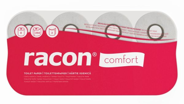 Toilettenpapier, comfort, 2-lagig, natur, RC