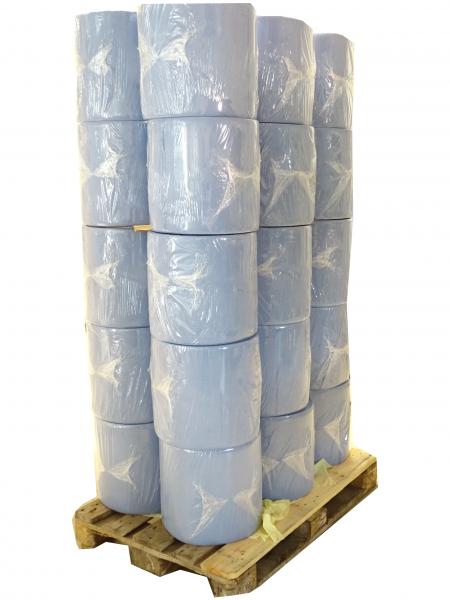 Putztuchrolle, blau, 2-lagig, 1000Blatt